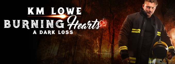 Burning Hearts A Dark Loss Facebook Cover Art